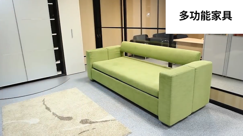 沙發變雙人上下床,這款多功能家具簡直就是小戶型的福音