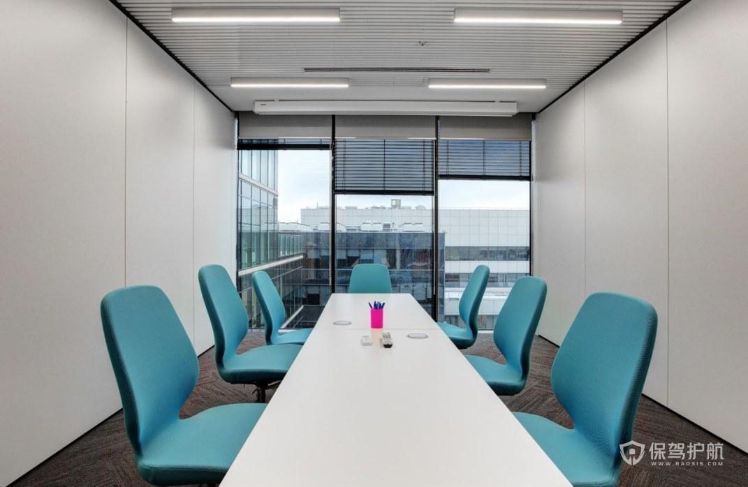 个性化办公会议室装修效果图
