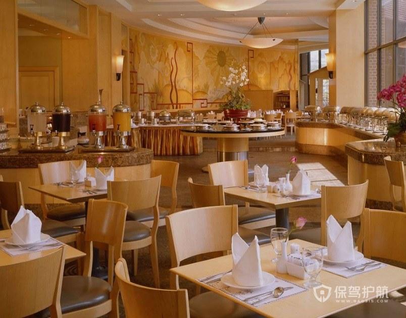 奢华日式餐厅装修效果图