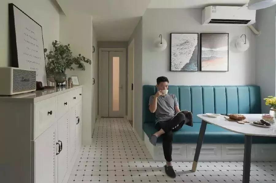 三口之家的50㎡溫馨兩居室裝修,兒童房的設計是亮點!
