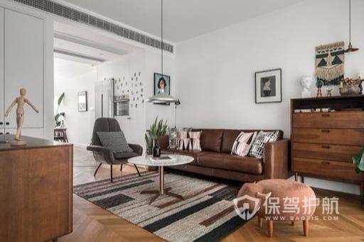 新房軟硬裝終于完工,客廳全用大白墻通透又明亮,忍不住分享一下