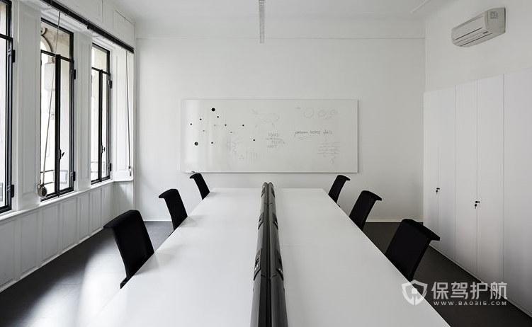 冷淡风公司会议室装修效果图