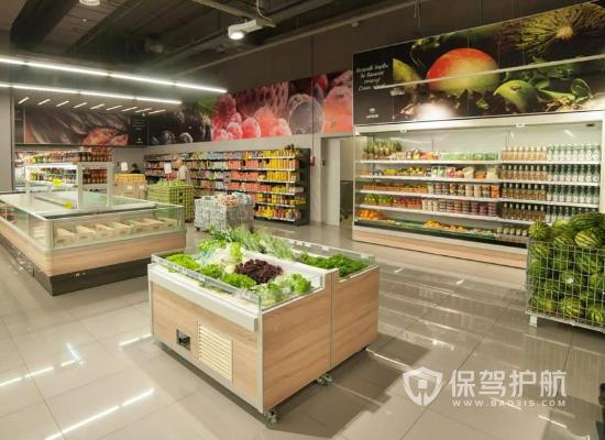 簡約風格水果超市裝修效果圖