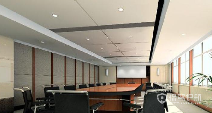 中小型會議室裝修效果圖