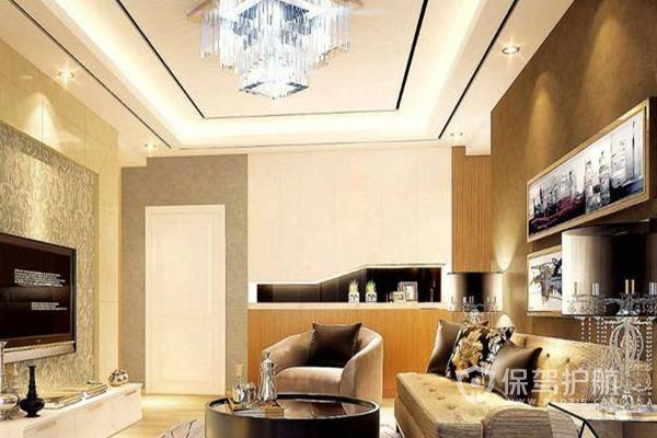 客厅吊顶费用预算,客厅吊顶装修效果图