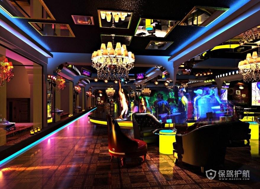 酒吧燈光設計有哪些注意點? 酒吧燈光設計效果圖