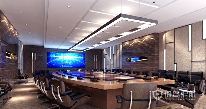 現代會議室裝修效果圖