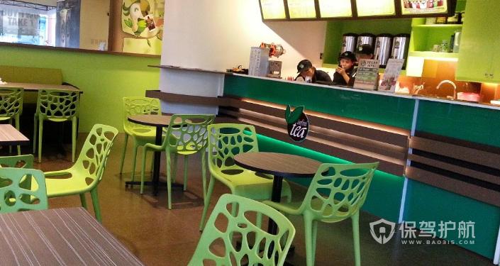 25平方奶茶店装修-保驾护航装修网