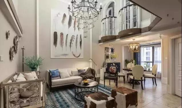 Amazing!60㎡不到的loft三居室居然装出别墅的既视感!