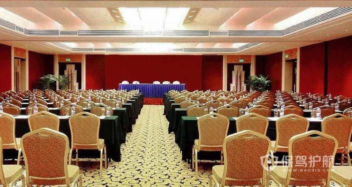 大型酒店會議室裝修效果圖