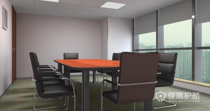 現代小型會議室裝修效果圖