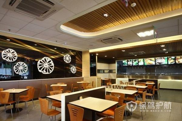 【快餐店装修】60平米快餐店装修要点