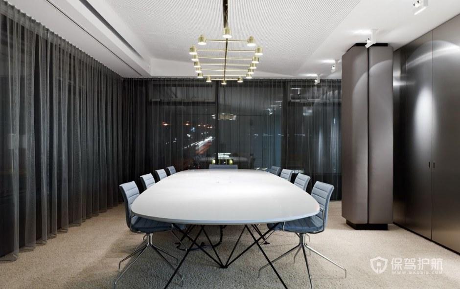 创意简欧办公会议室装修效果图