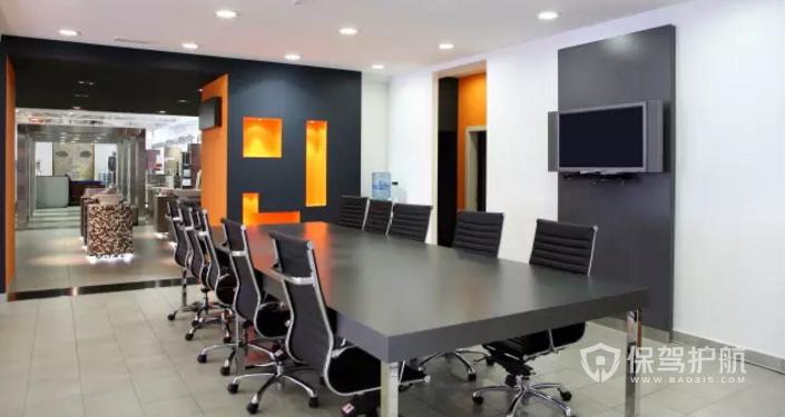 办公室会议室装修效果图