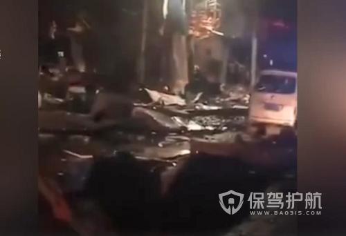 烟台一饭店凌晨发生爆炸 居民称以为发生地震