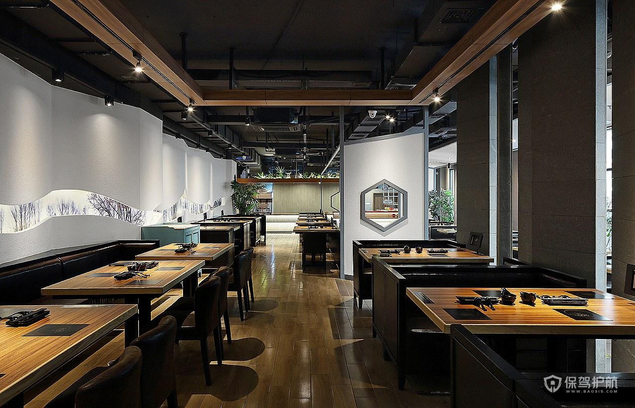 创意火锅店怎么设计?创意火锅店设计说明