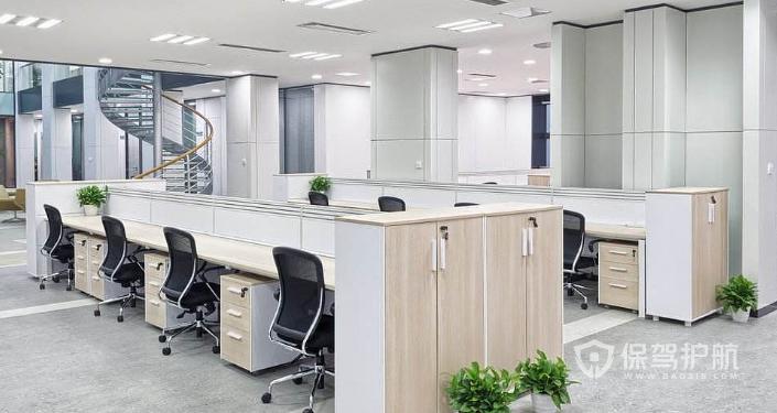 现代时尚办公室装修效果图
