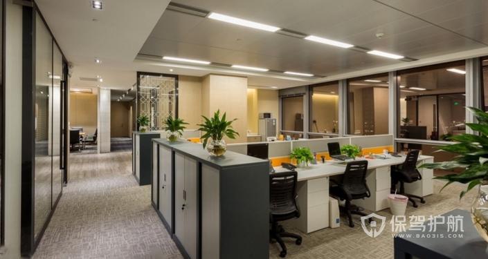 现代温馨办公室装修效果图