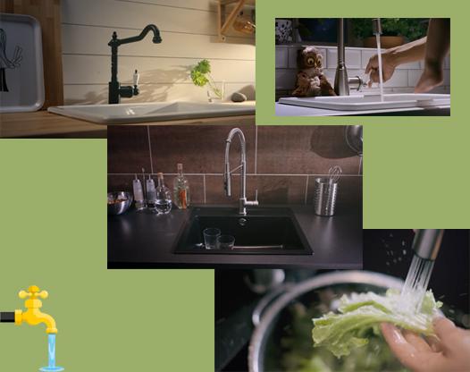 家用净水器对水质进行深度过滤