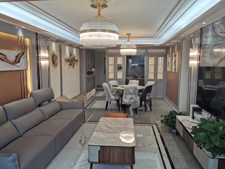永和春天浪漫法式风格家居装修设计,精致温馨的家很有格调