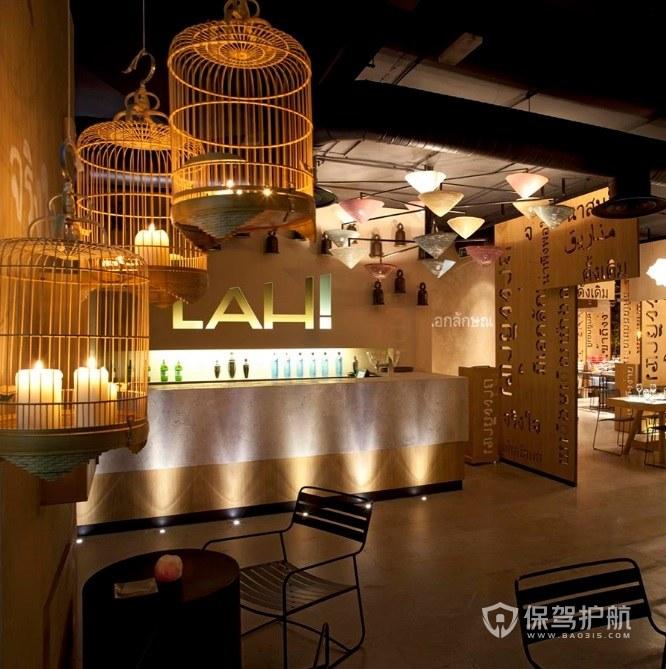 东南亚创意餐厅装修效果图