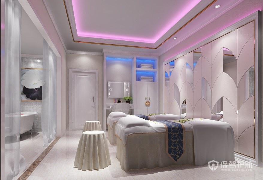 100平米美容院如何装修设计? 100平米美容院装修图