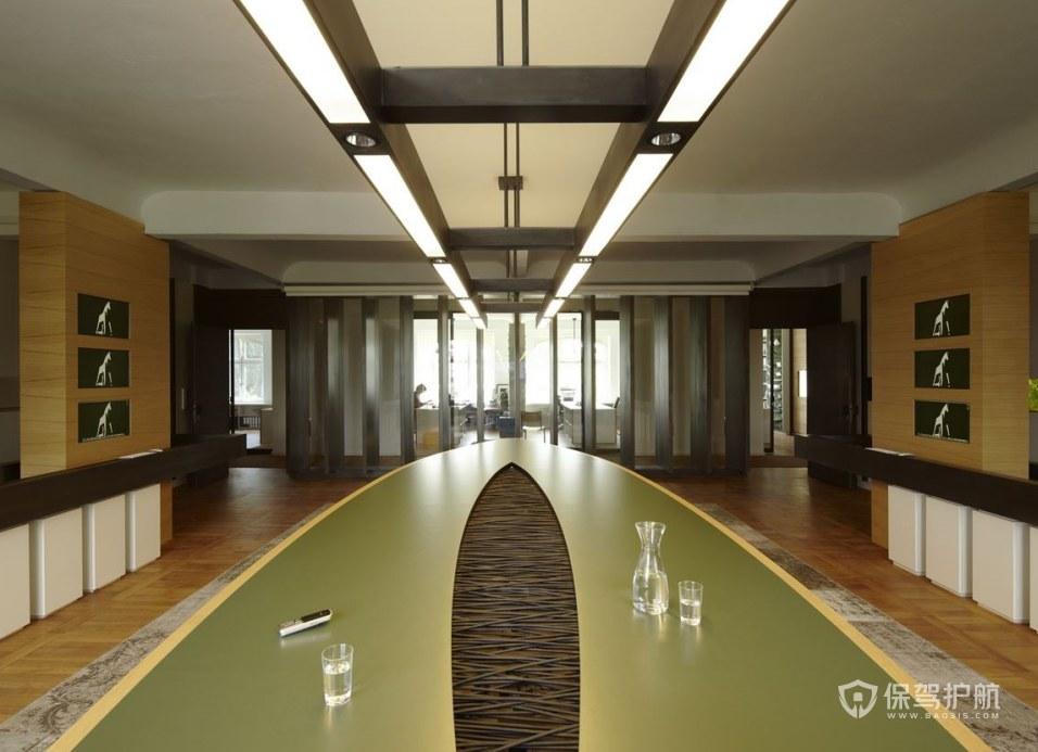 创意欧美办公会议室装修效果图
