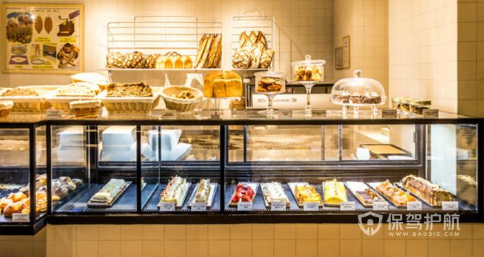 蛋糕店玻璃橱窗设计-保驾护航装修网