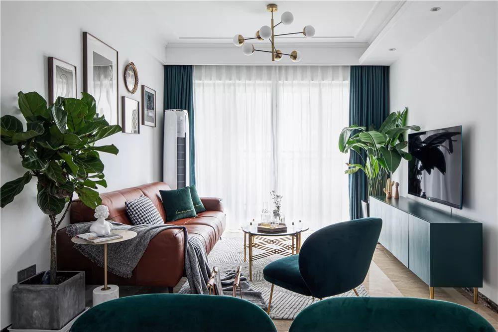 维多利亚100㎡轻奢北欧3室2厅,精致而浪漫的极致品味