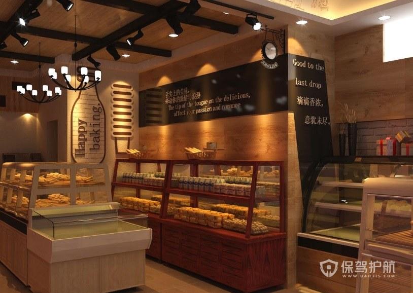 蛋糕店创意门头装修-保驾护航