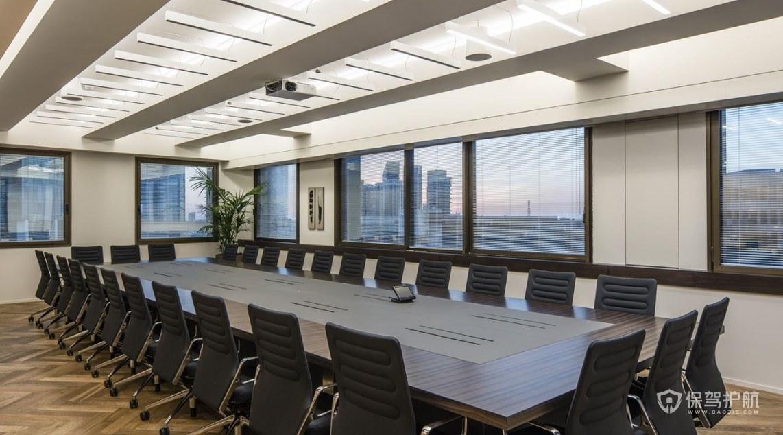 后现代办公会议室装修效果图