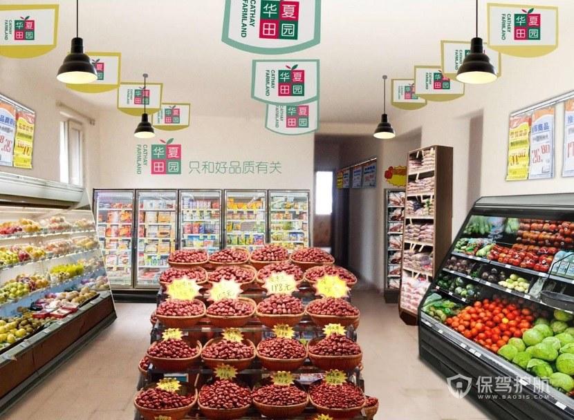 水果店用什么灯? 水果店开在哪里生意好?
