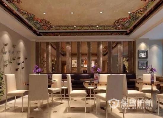 新古典风格咖啡馆装修效果图