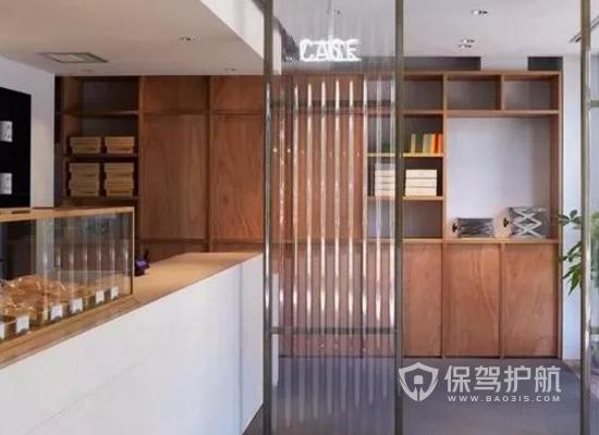 原木风咖啡厅装修效果图