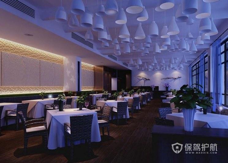 法式西餐厅装修效果图