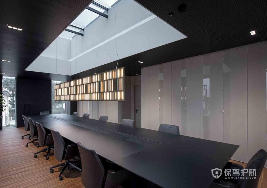 复式办公楼会议室装修效果图