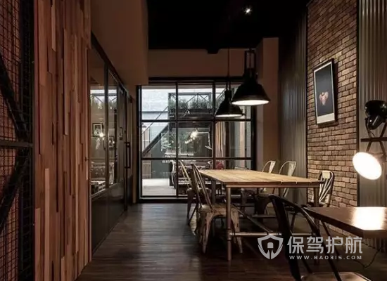 欧美风格咖啡馆装修效果图