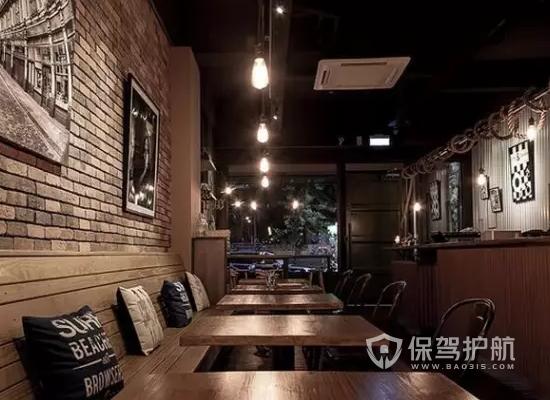 欧式古典咖啡馆装修效果图
