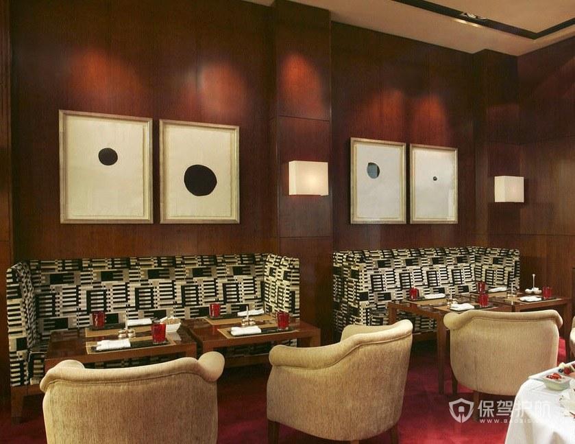 新古典西餐厅装修效果图