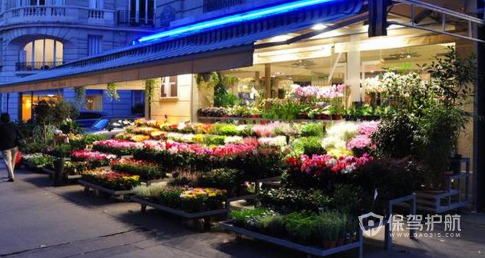 韩式花店装修效果图-保驾护航装修网