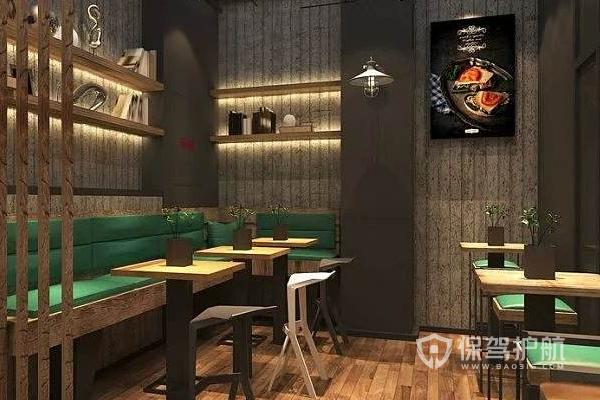咖啡店设计效果图-保驾护航装修网