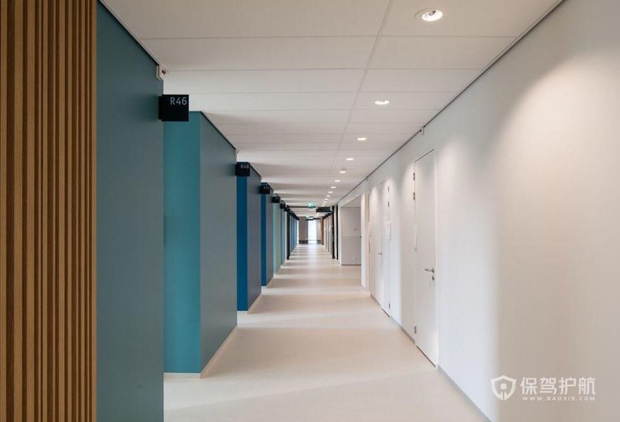 欧美办公室走廊装修效果图