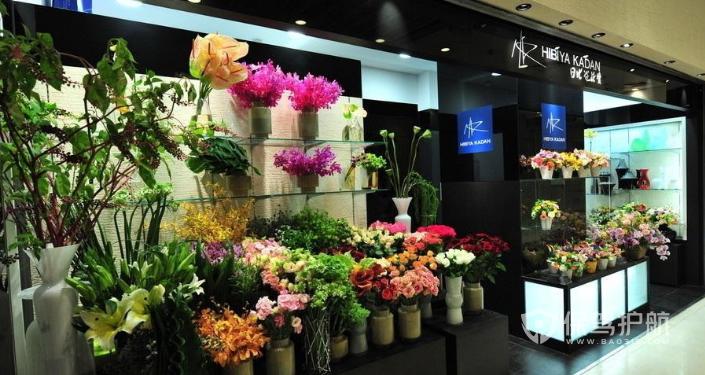 韩式花店装修效果图,韩式花店装修要点