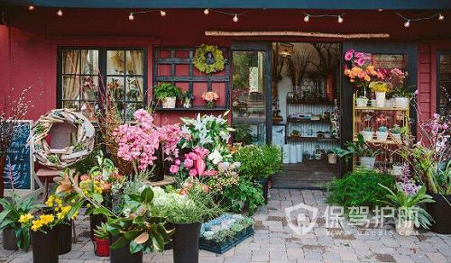 【花店装修案例】花店装修设计需要准备哪些?