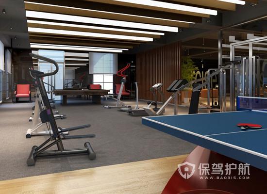现代健身房如何装修设计,现代健身房装修设计步骤