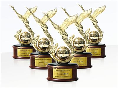 米兰天地装饰荣获2018年度武汉建筑装饰优质(黄鹤奖)工程