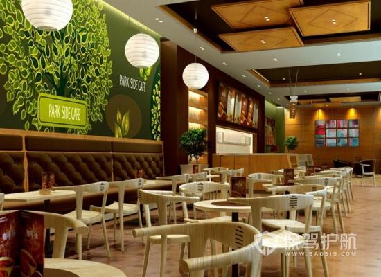 简约混搭风格咖啡厅装修效果图