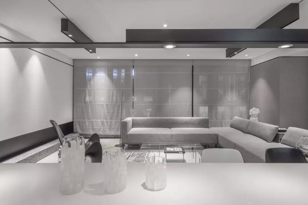 一居室欧式风格旧房装修改造效果图