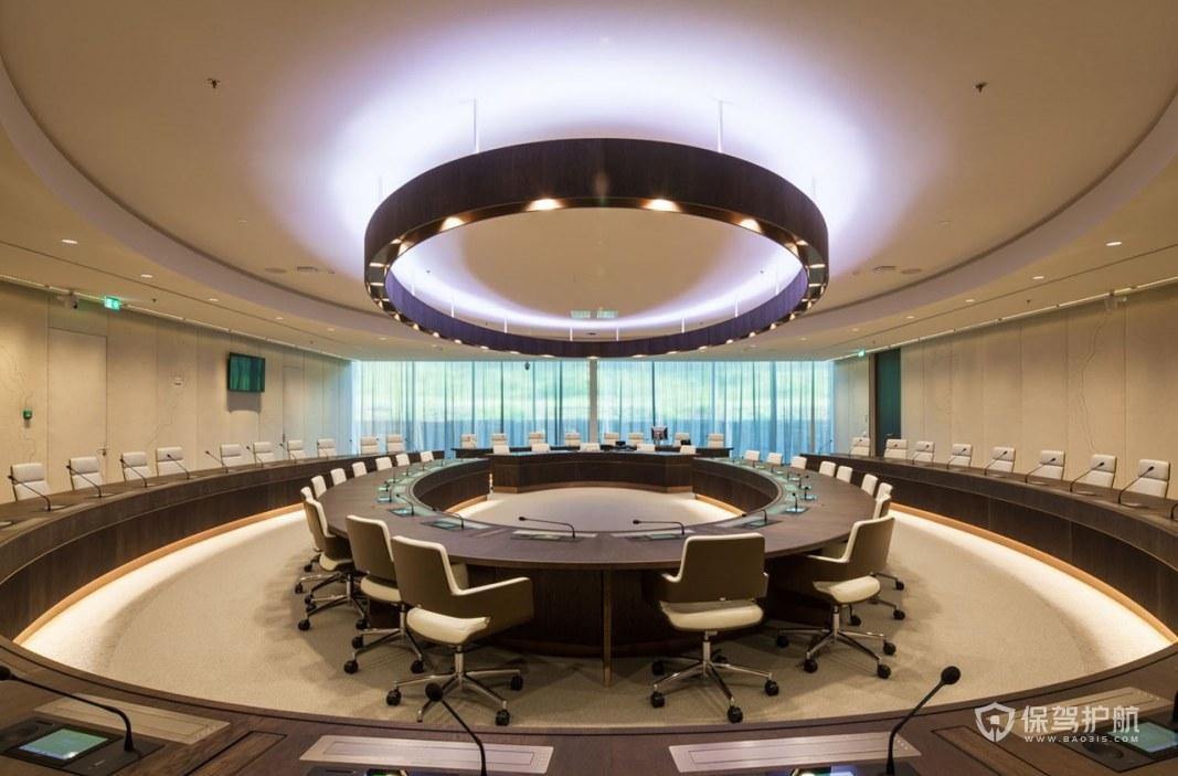 别墅办公会议室装修效果图