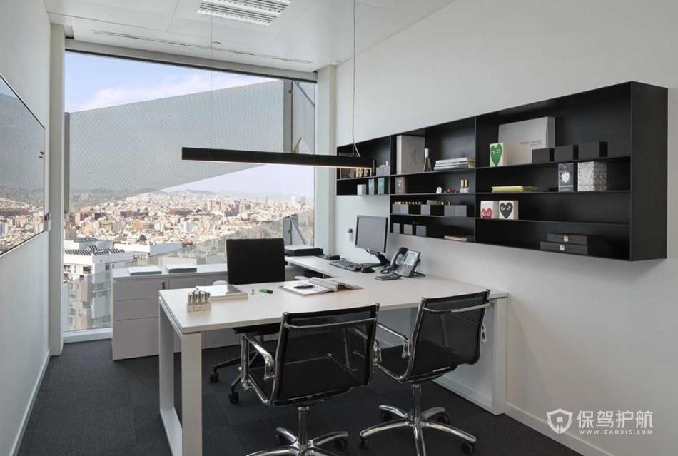 现代简约风格经理办公室装修效果图